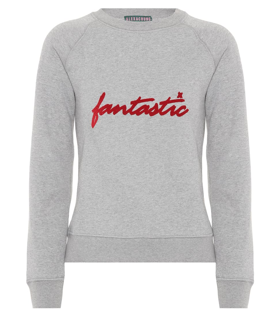 AlexaChung Sweatshirt aus Baumwolle