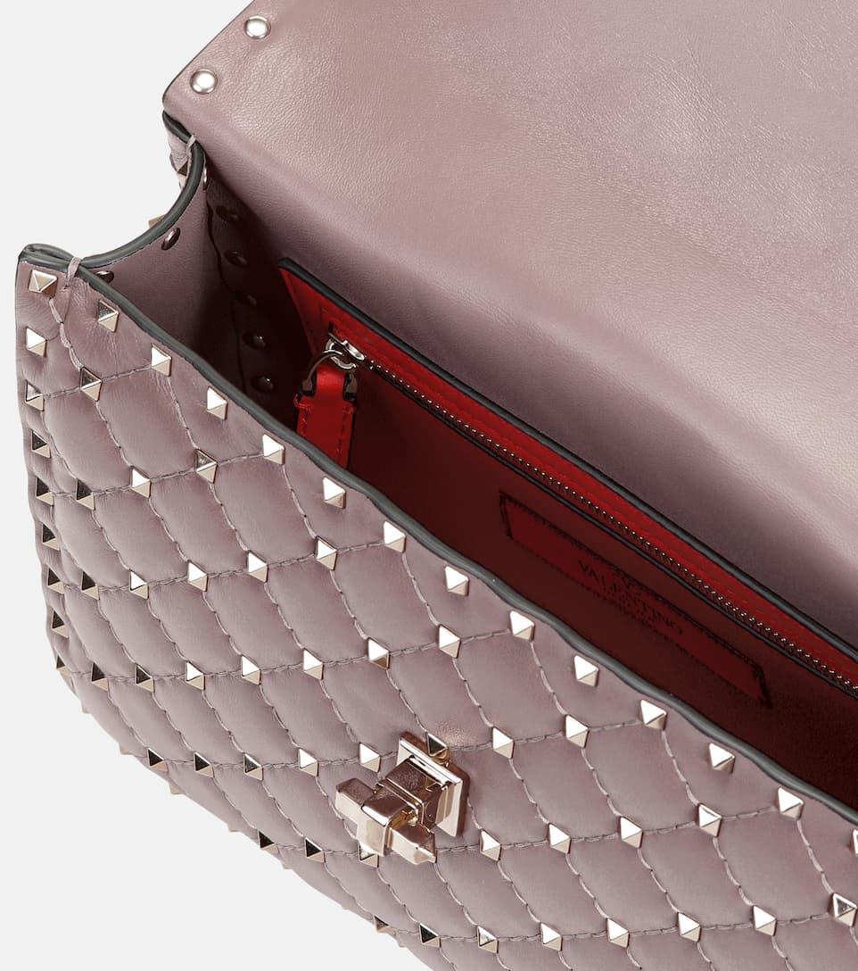 Valentino Valentino Garavani Schultertasche Rockstud Spike aus Leder