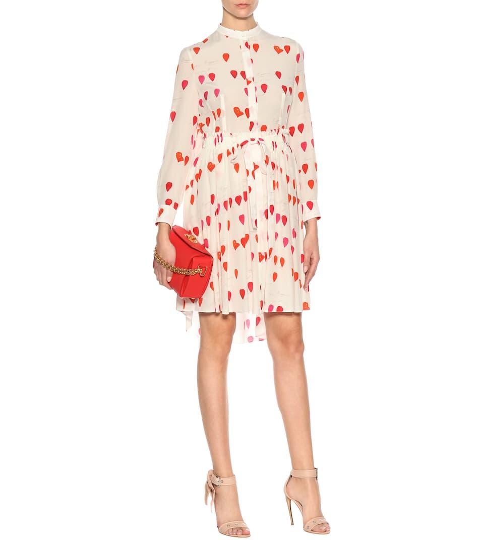 Alexander McQueen Kleid aus Seide