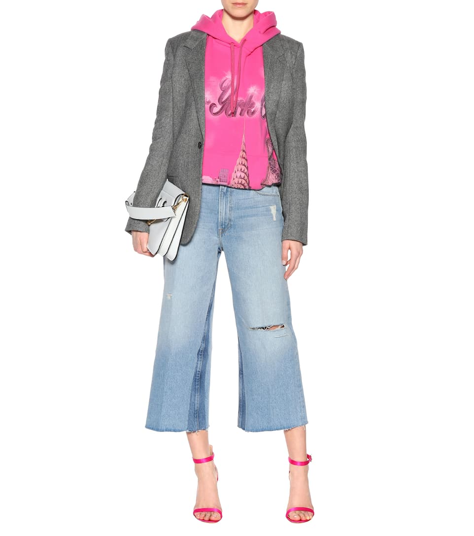 Frame Jeans Le Reconstructed mit weitem Bein