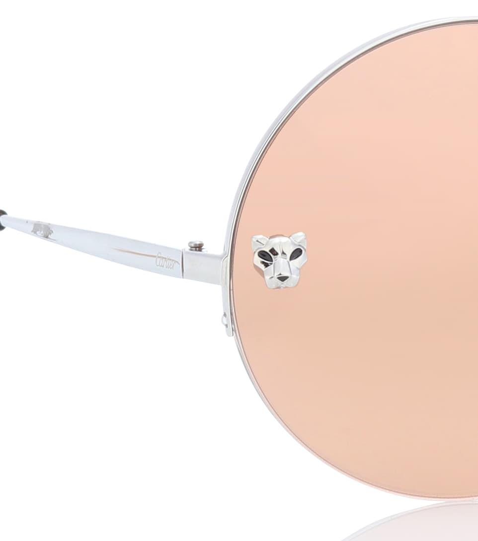 Eyewear Collection Soleil Rondes Lunettes De Panthère Cartier 6fIYvb7gy