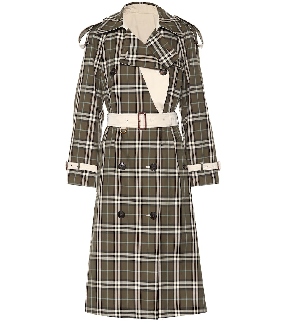 778008dc8519 Burberry - Trench-coat réversible en gabardine