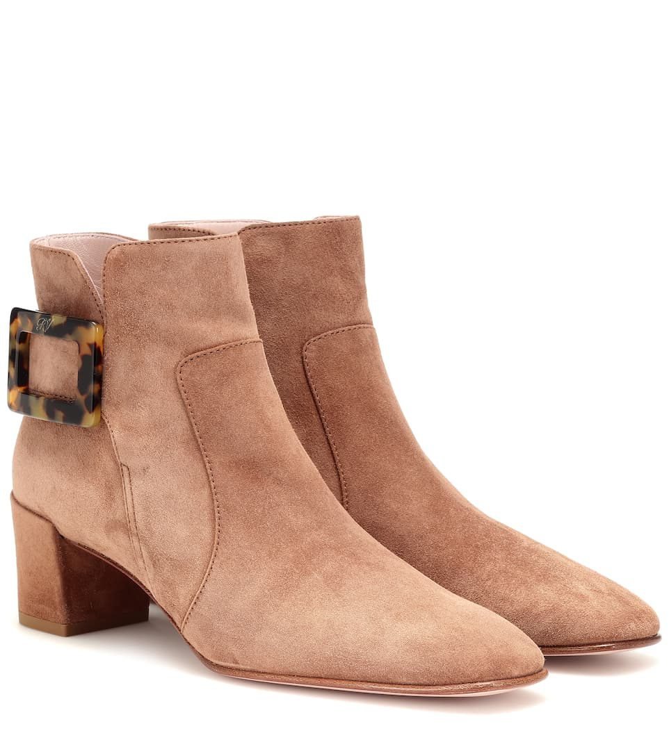 d32bb74674b Polly suede ankle boots