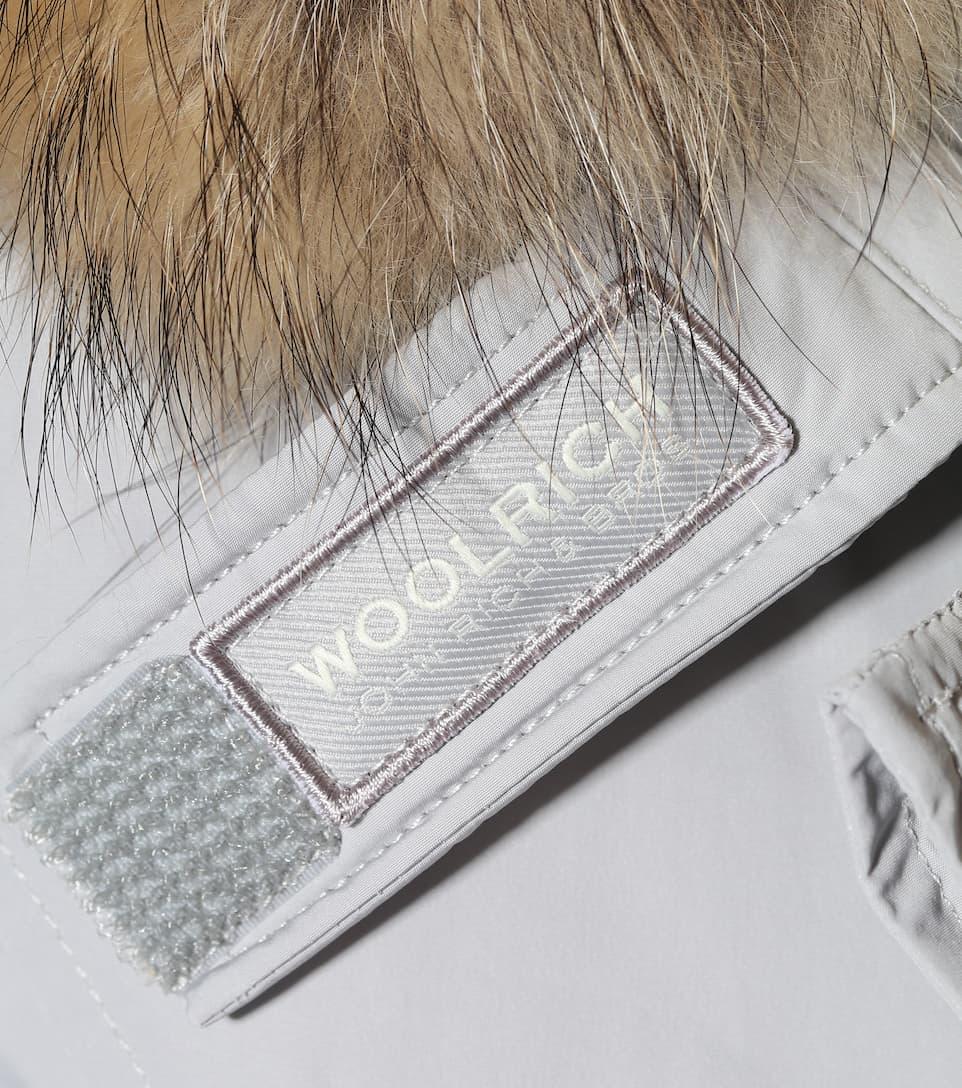 Parka Grigio Con Luxury Woolrich Pelliccia Artic Drifter Donna 0qpxw5B