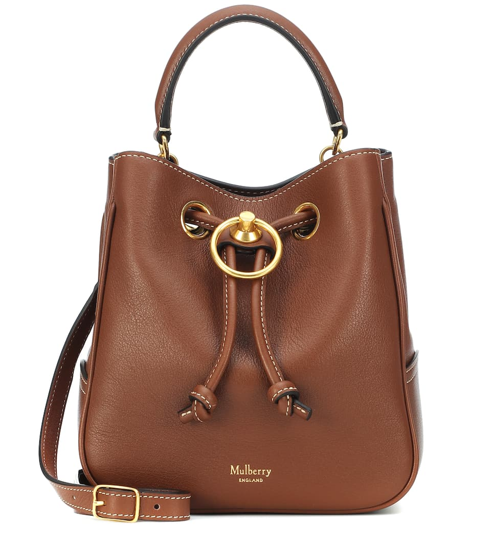 Hampstead Leather Bucket Bag by Mulberry