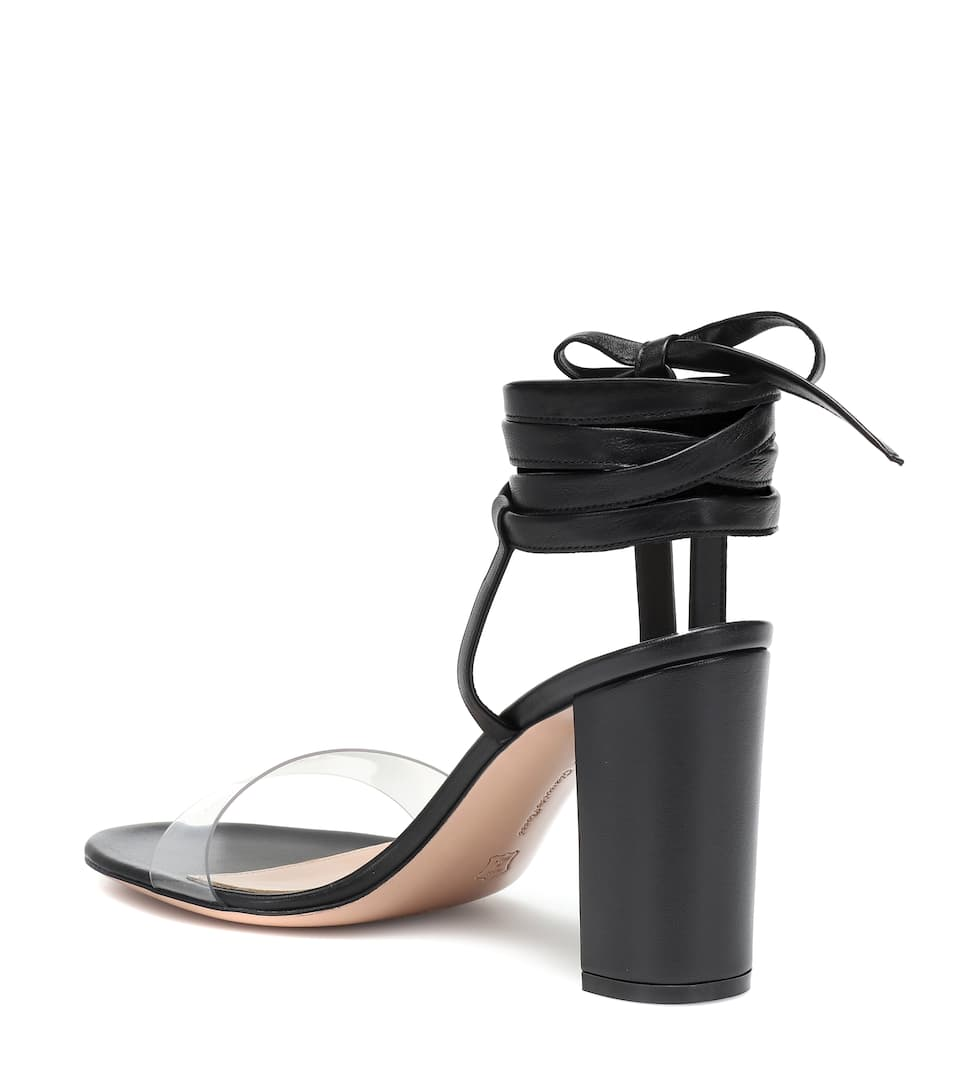 98316237a66 Gianvito Rossi - Exclusive to Mytheresa – Flavia 85 leather sandals ...