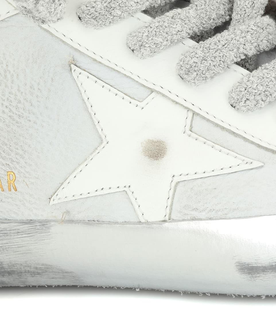 Sneakers Superstar In Pelle E Suede