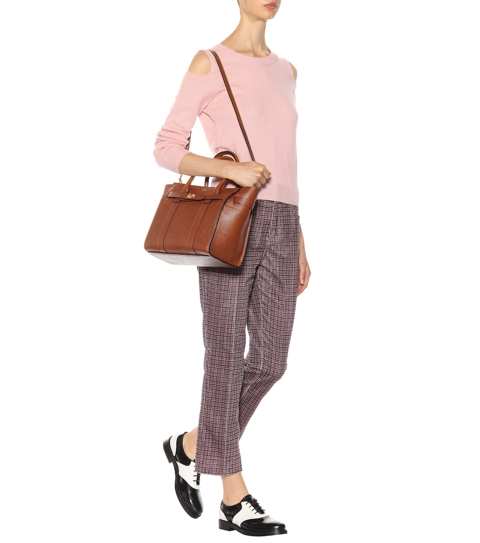 Small Zipped Cabas Mulberry En Cuir Bayswater UMSVpzGq