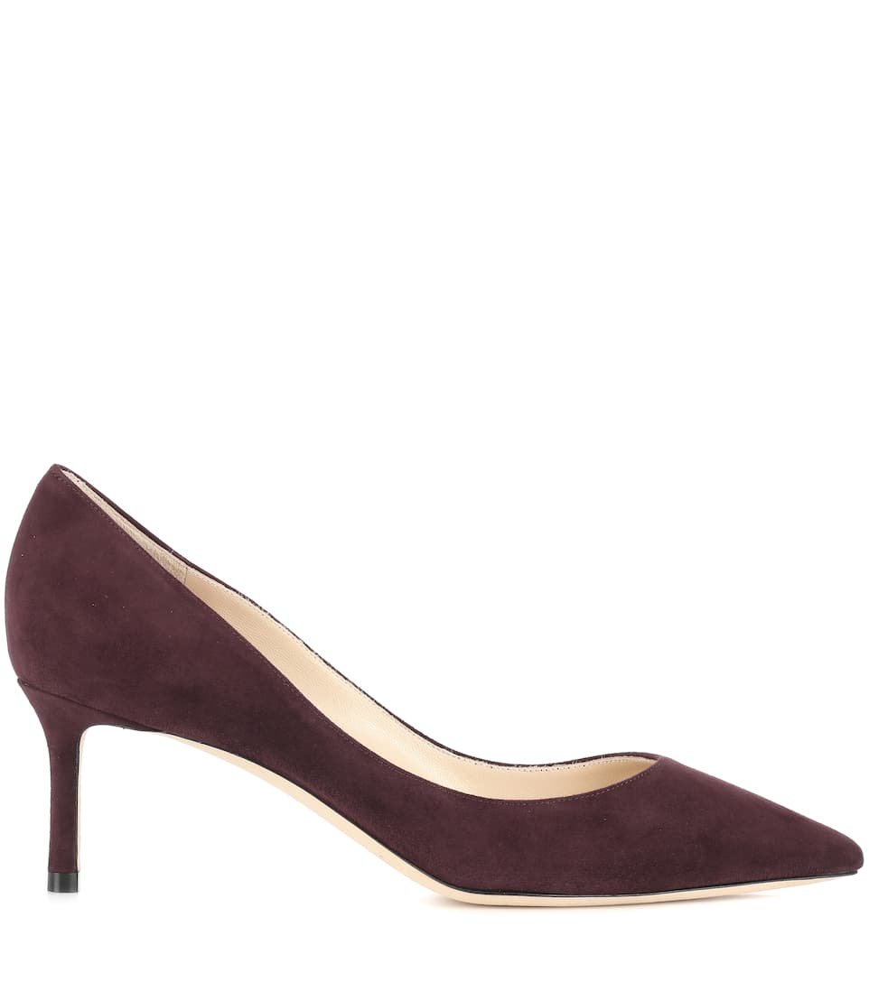 Jimmy Choo Pumps Romy 60 aus Veloursleder