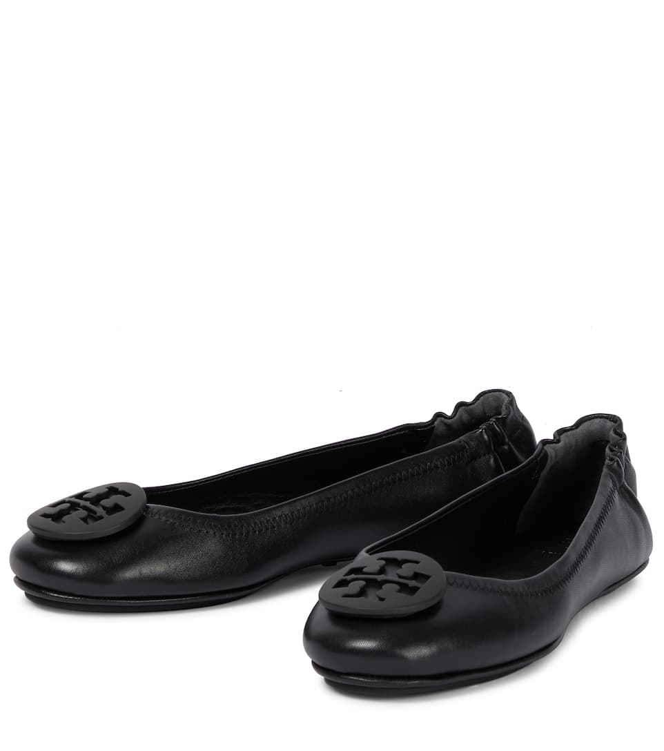 Tory Burch Ballerinas Minnie aus Leder