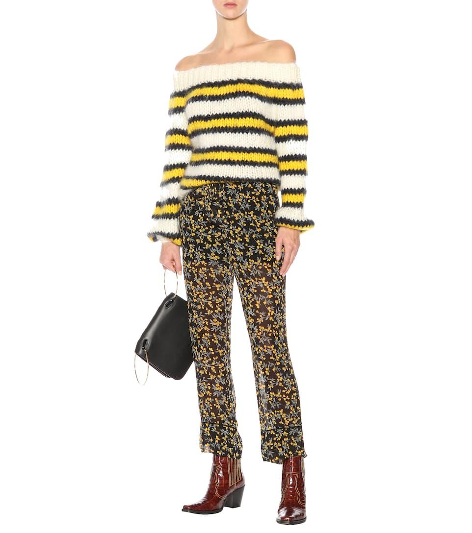Ganni Pullover Julliard aus Mohair und Wolle Günstig Kaufen Billig Großhandelspreis Super Shop Für Günstige Online 6DzajU0