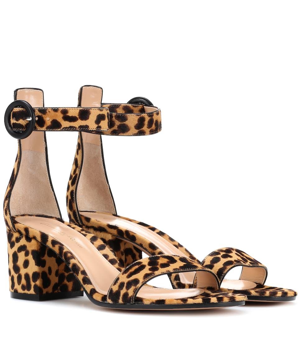 7befab888dd Versilia 60 Leopard-Printed Sandals