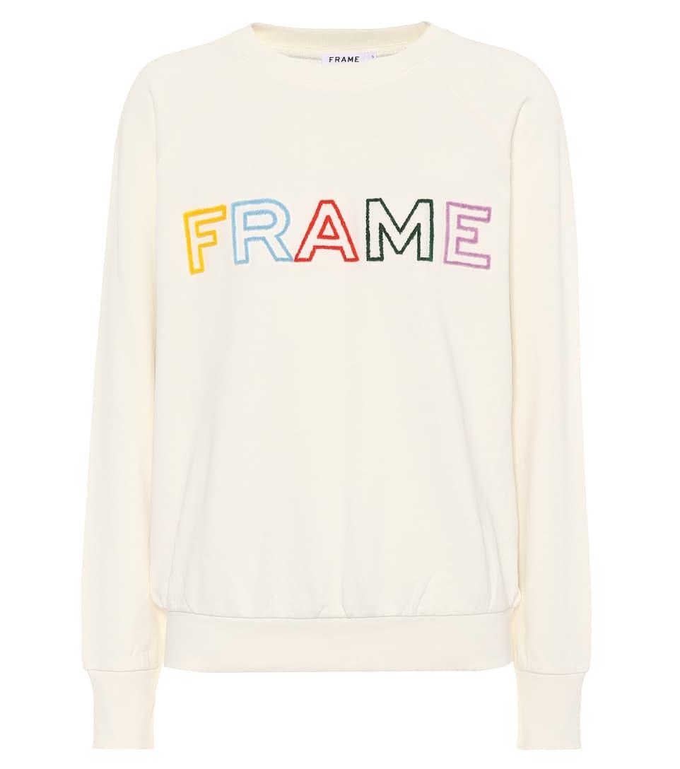 Frame Pullover aus Baumwolle Billige Finish Günstig Kaufen Visum Zahlung Angebote Zum Verkauf JQ7yYmJ