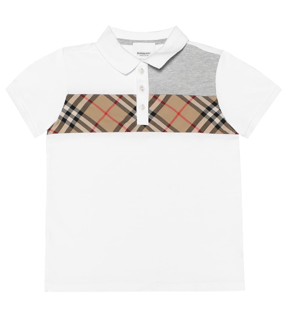 a51eddd39f4b Vintage Check Cotton Polo Shirt | Burberry Kids - Mytheresa