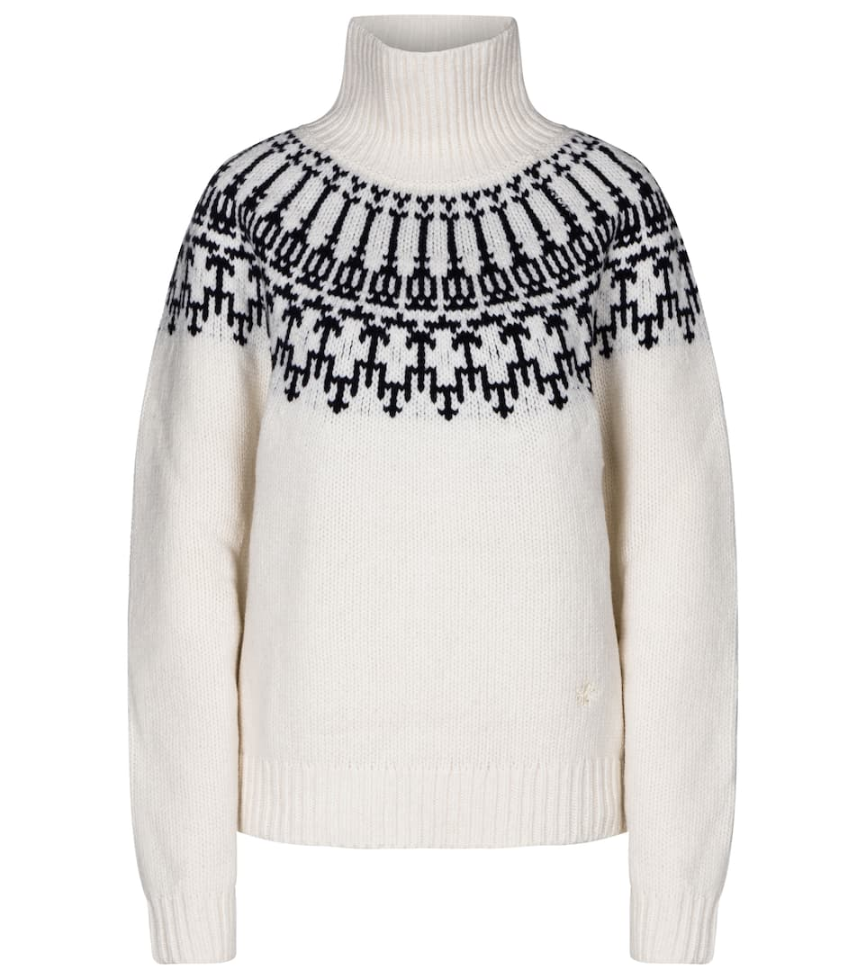 Fair Isle Cream Knit