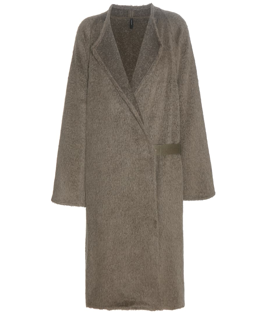 Helmut Lang Alpaca and wool coat
