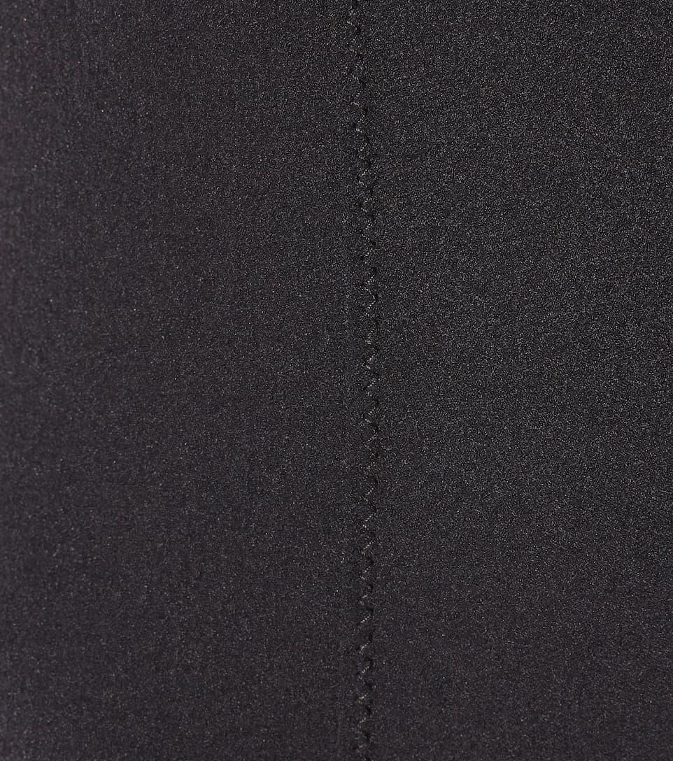 Lisa Marie Fernandez Riri Maillot swimsuit Black Crepe Outlet Discounts ip6PPD