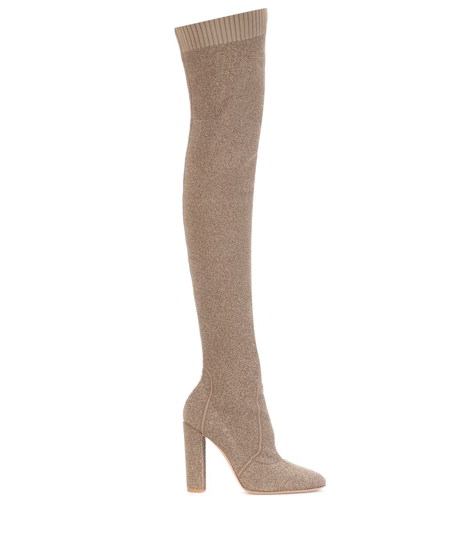cheap price wholesale exclusive cheap online Gianvito Rossi Isa knit over-the-knee boots 2015 new sale online 2014 online quality free shipping outlet DfNjLBxWHt