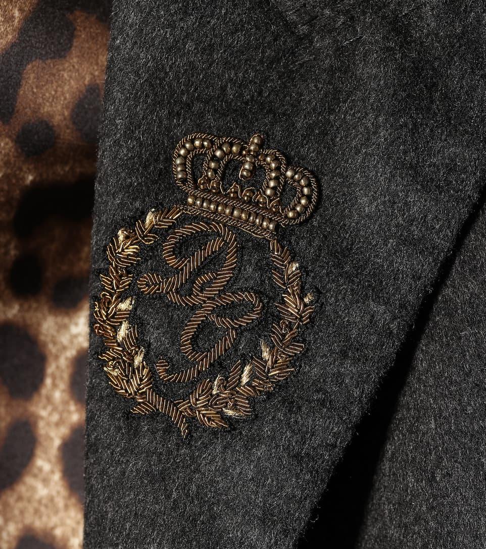 Dolce & Gabbana Mantel aus Wolle und Cashmere