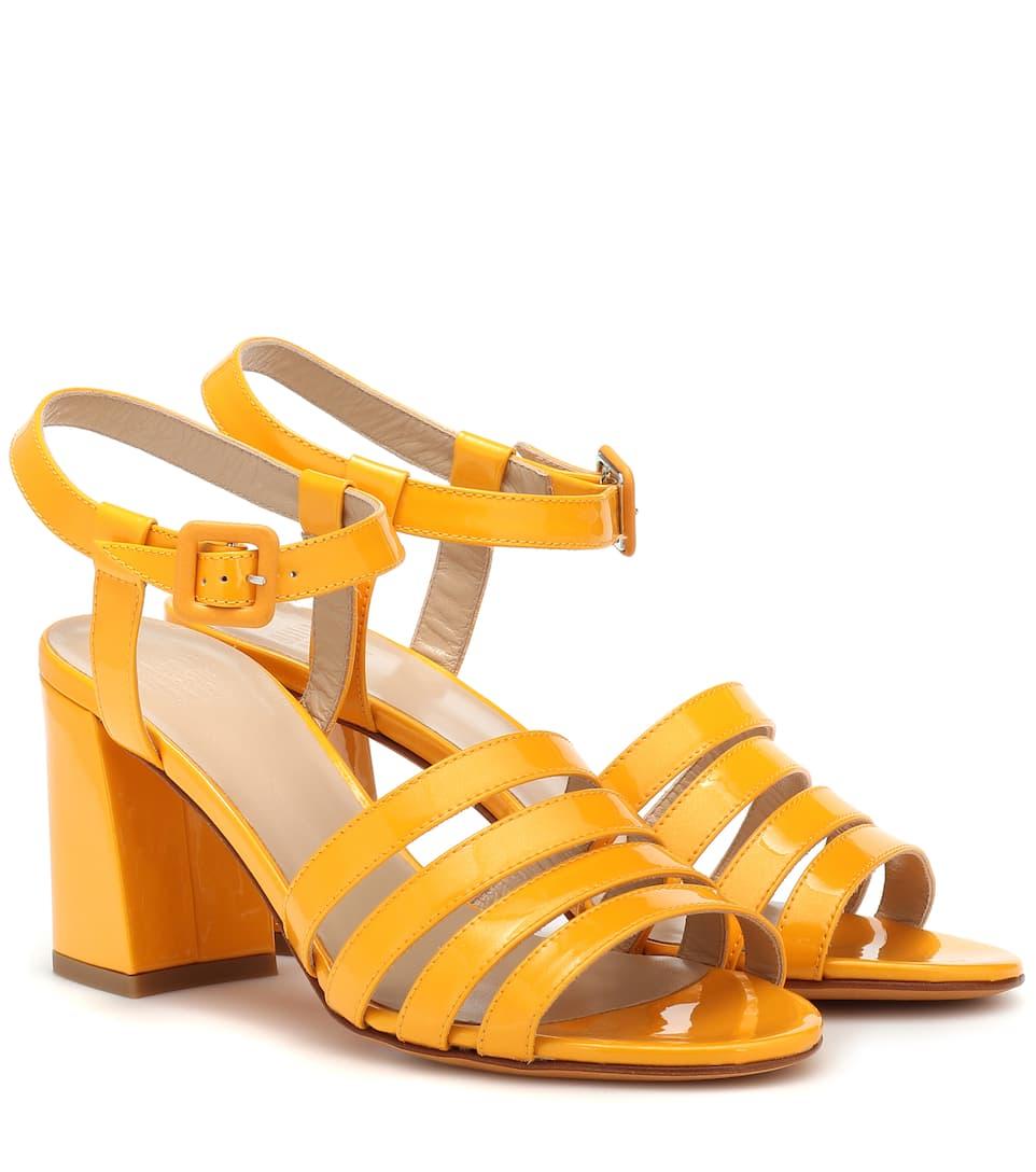 1730a172de61 Maryam Nassir Zadeh - Palma High patent leather sandals