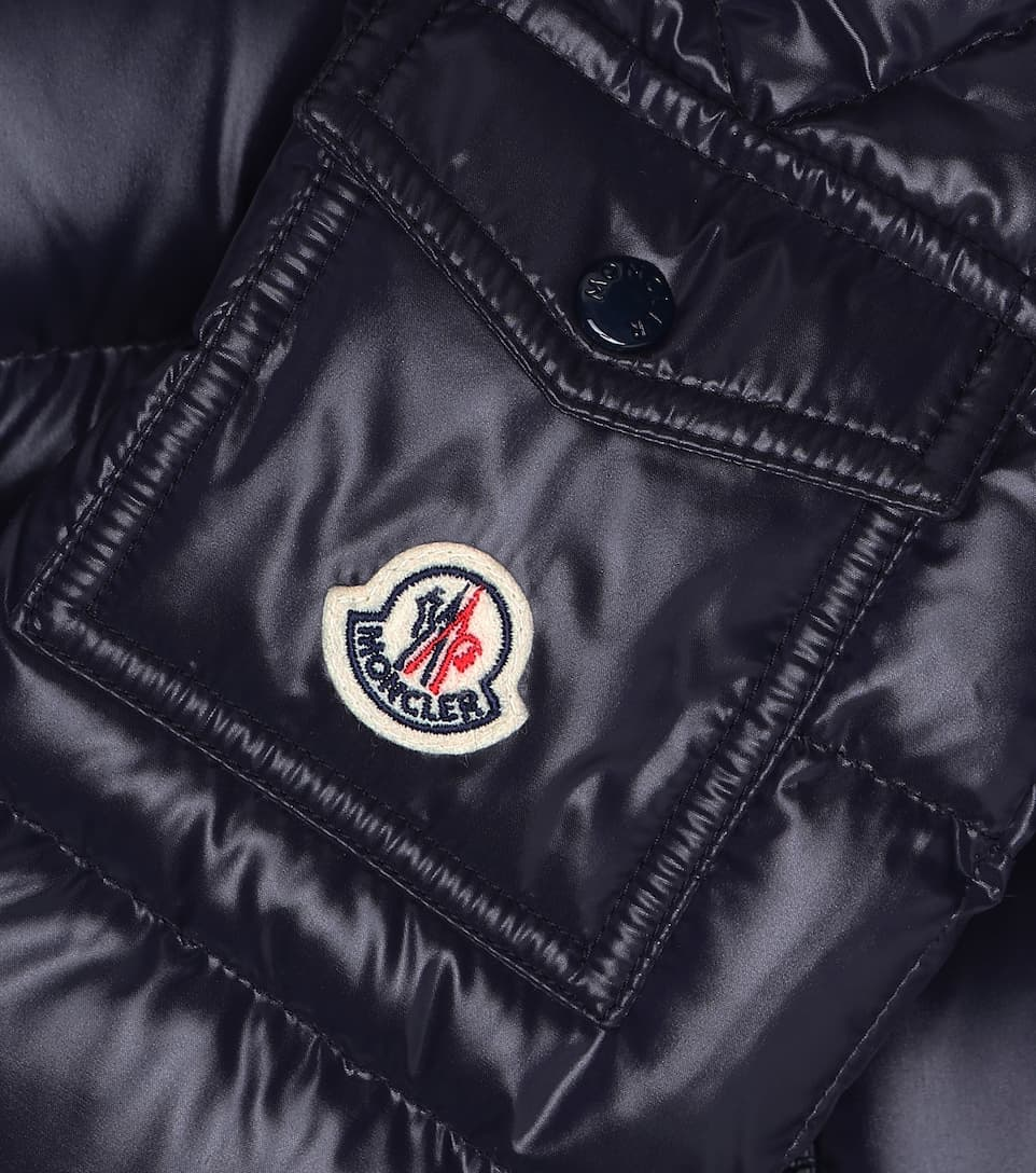 Maya Hooded Down Coat | Moncler Enfant Mytheresa