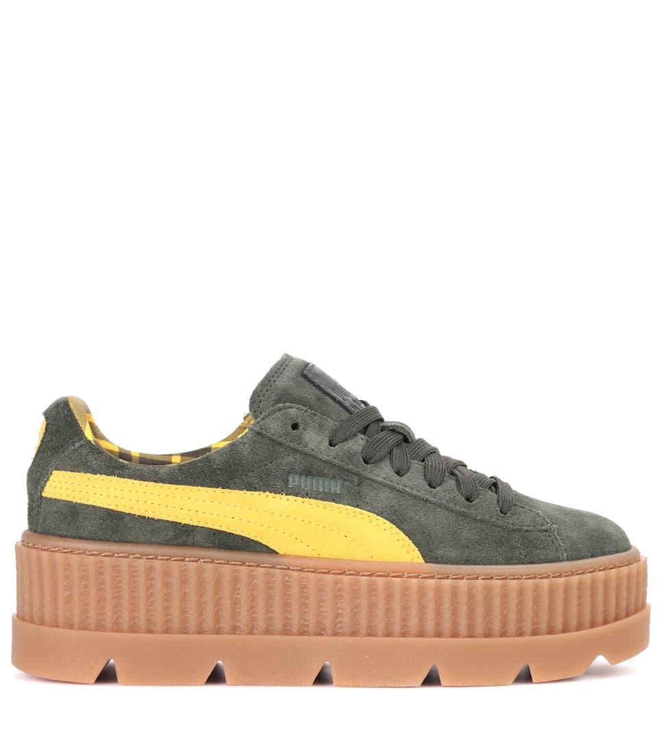 Creeper绒面革运动鞋展示图