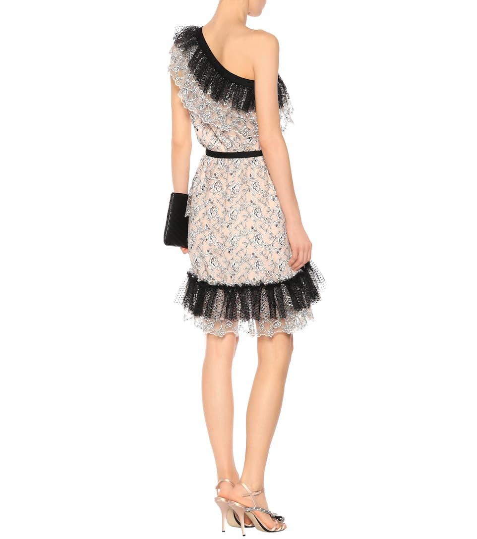 Philosophy Di Lorenzo Serafini Asymmetrisches Kleid aus Tüll
