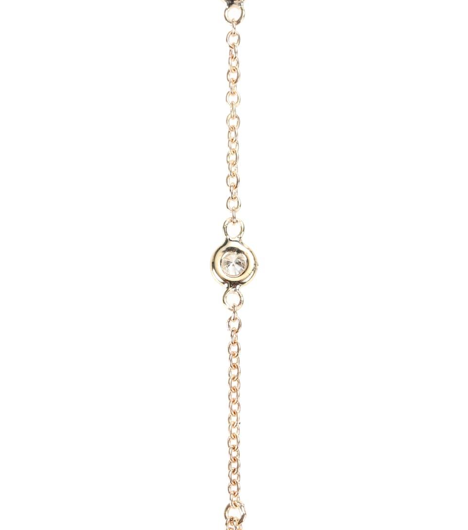 Bracelet Chaîne De Main En Or 14 Ct Et Diamants 3 Spaced Out Réduction Par Carte De Crédit sHxfCyxXjt
