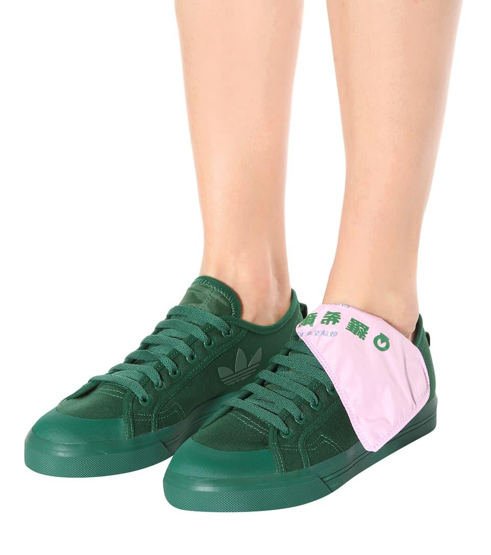 Adidas by Raf Simons - Baskets en toile Spirit Low Faire Acheter sgh7sq
