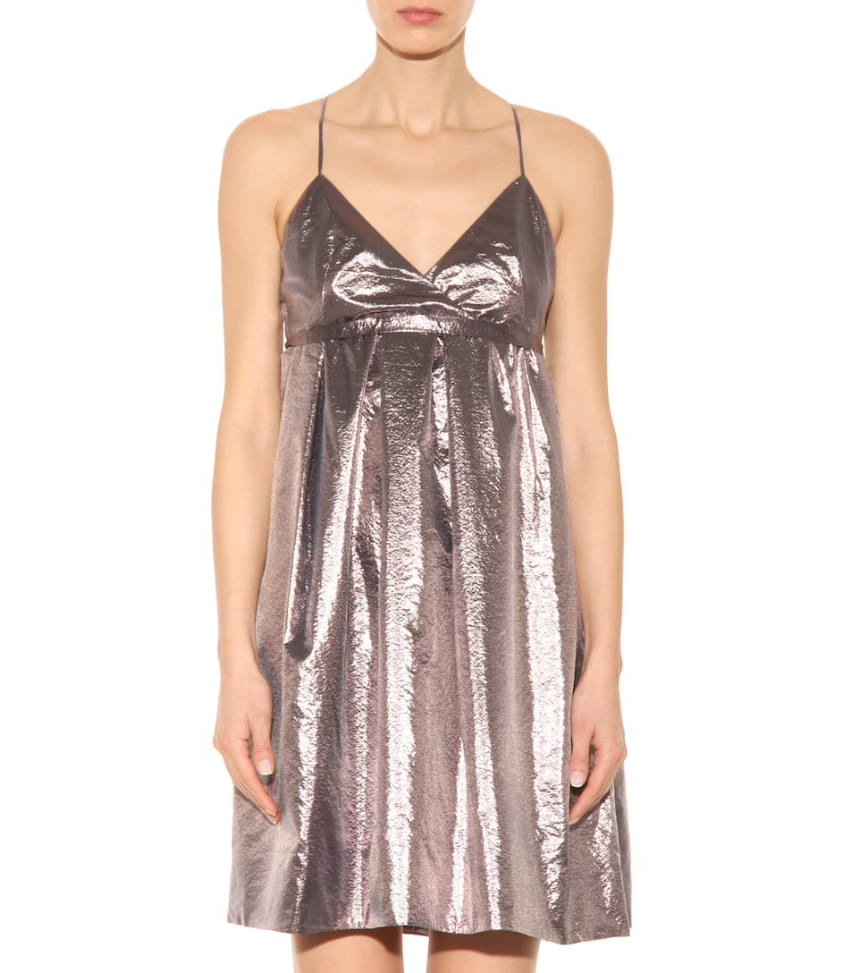 Exclusive to mytheresa.com - metallic dress Victoria Beckham Pay With Visa For Sale j7jJUFVds