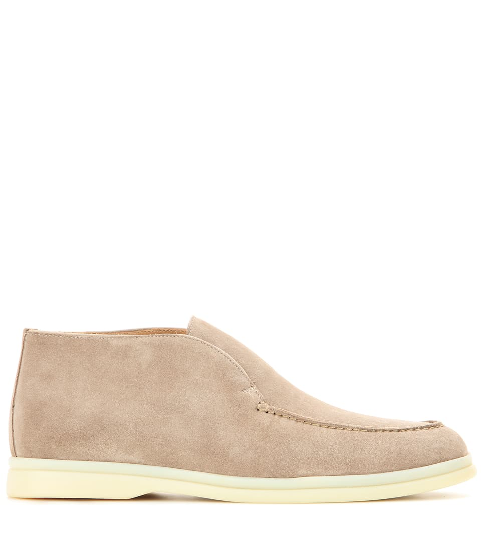 Loro Piana Desert Boots From Suede Polachino
