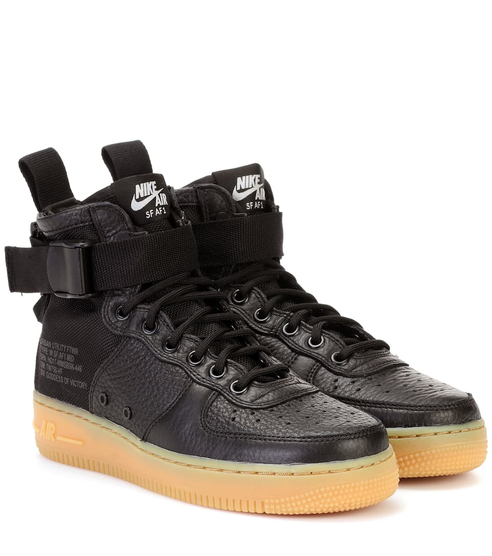 SF AIR FORCE 1 MID SNEAKER
