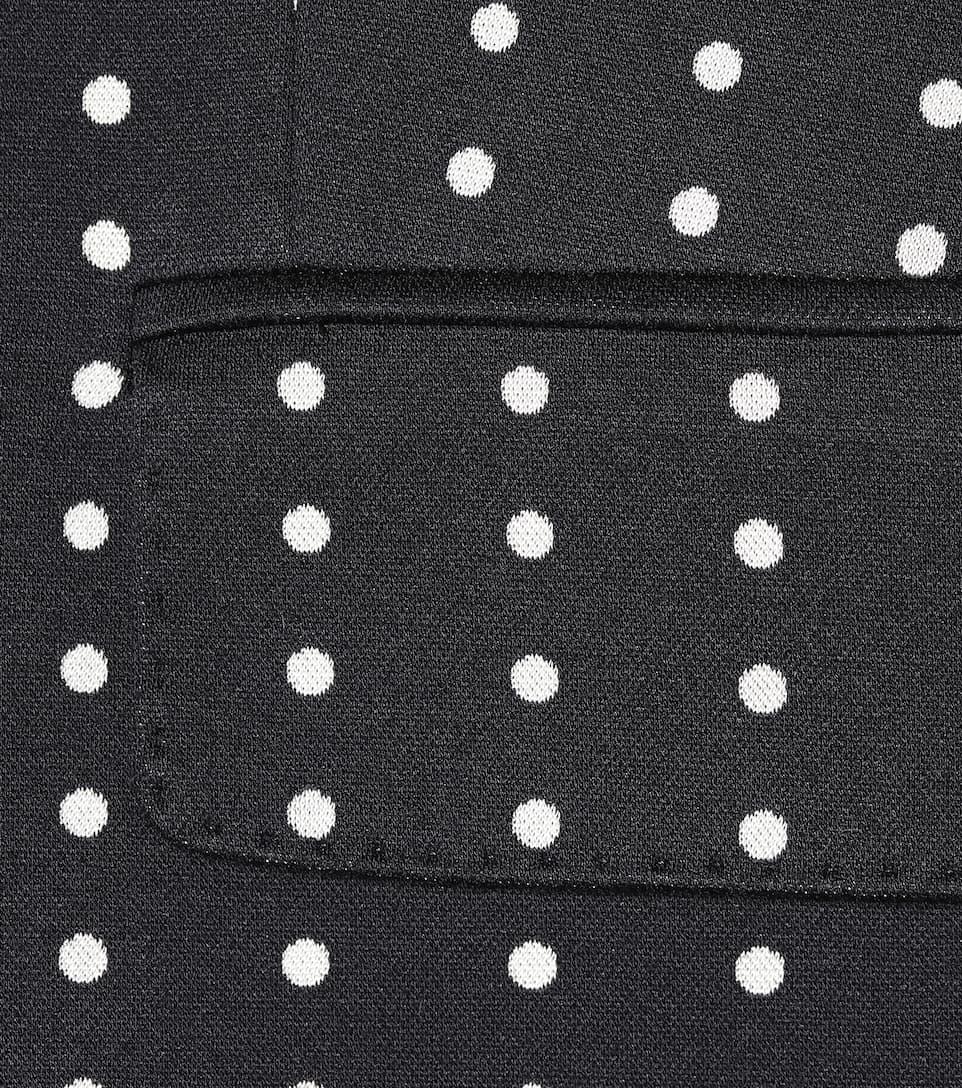 Spielraum Angebote Max Mara Blazer Tenace aus Jersey-Jacquard Billig Verkaufen Neu 2018 Online XRsVFdIShF