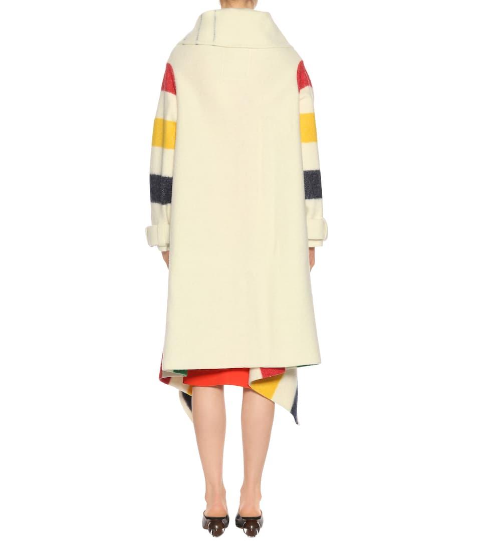 Wo Sie Finden Können Monse Gestreifter Mantel aus Wolle Low-Cost Verkauf Online Freies Verschiffen Wirklich Freies Verschiffen Begrenzte Ausgabe eBLBeh5br