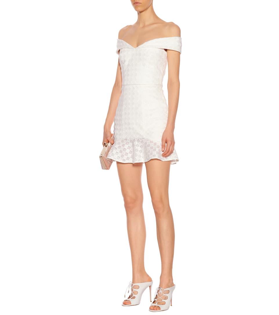 Verkauf Footlocker Rebecca Vallance Minikleid mit Volants und Spitze 100% Original Neue Ankunft Art Und Weise IIbedjFtL