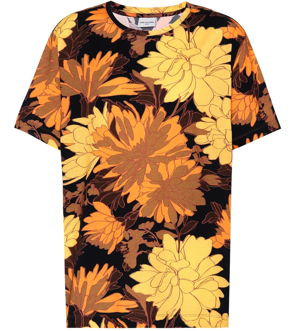 Dries Van Noten Printed T-shirt Harry