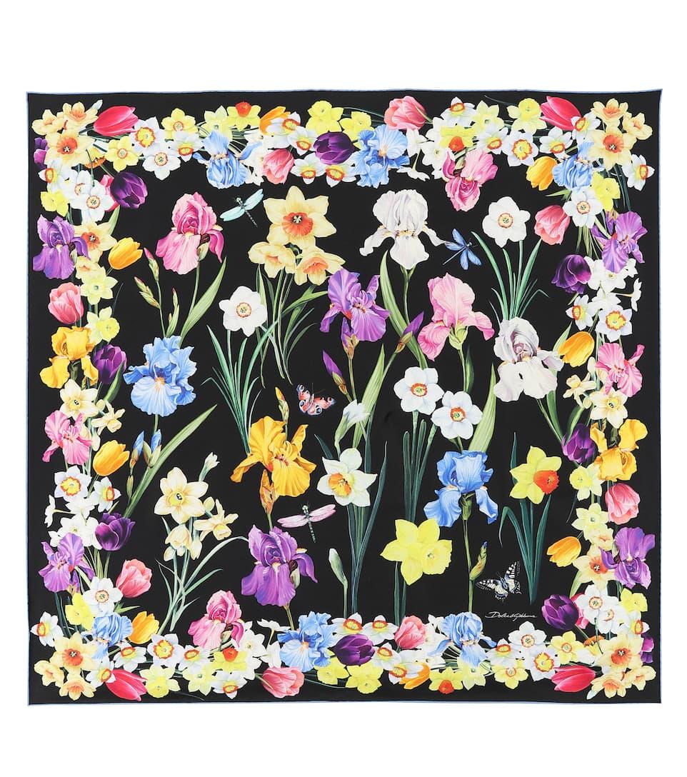 9fe65aec Printed Silk Scarf | Dolce & Gabbana - mytheresa.com