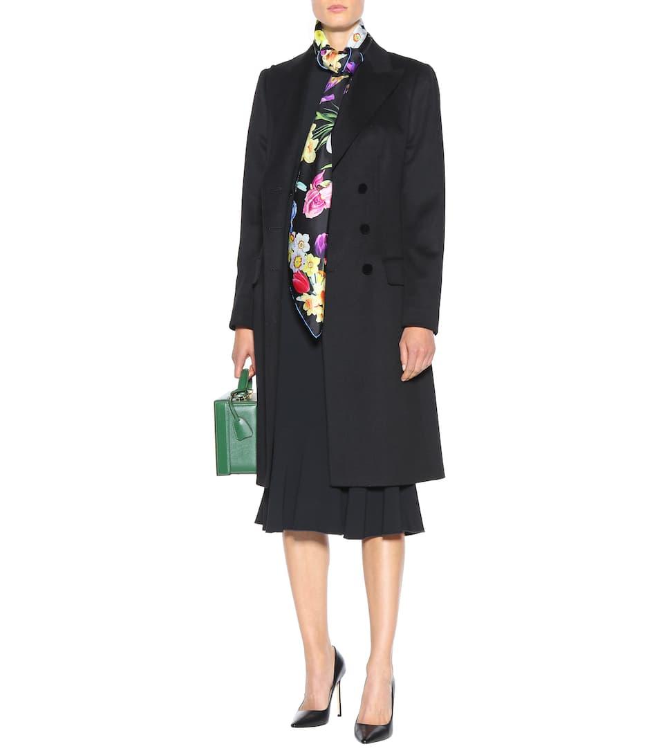 Dolce & Gabbana - Foulard en soie imprimée À Vendre Site Officiel ay5Qeaa