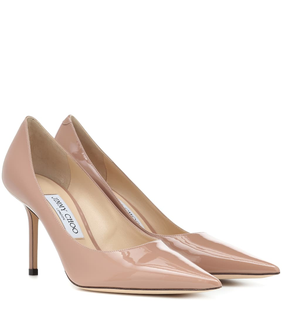 25db5b41eec55 Jimmy Choo - Love 85 patent leather pumps