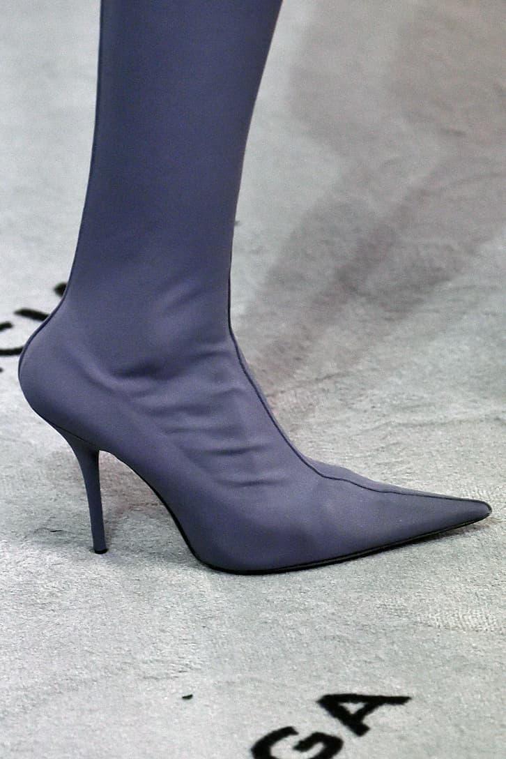 Balenciaga Overknee-Stiefel Knife