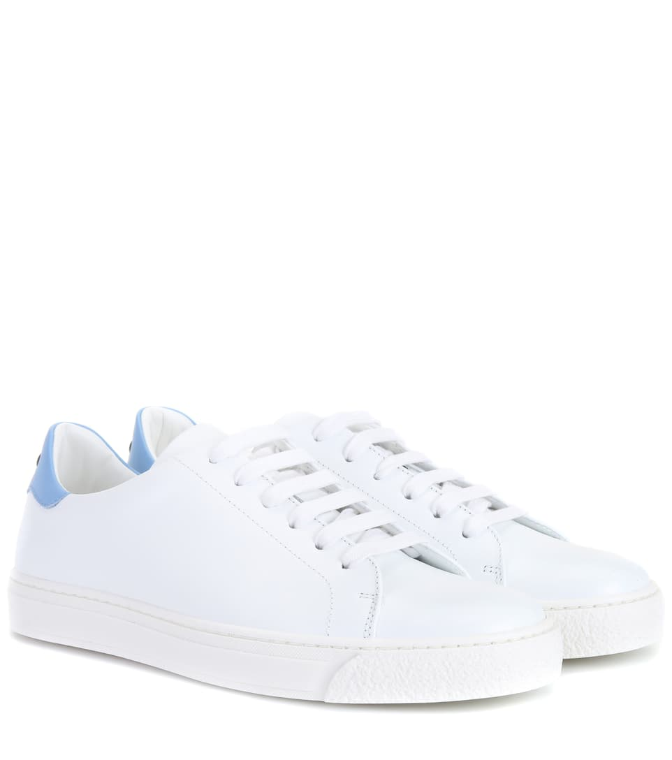 851d62a9a91d Anya Hindmarch - Eyes leather sneakers