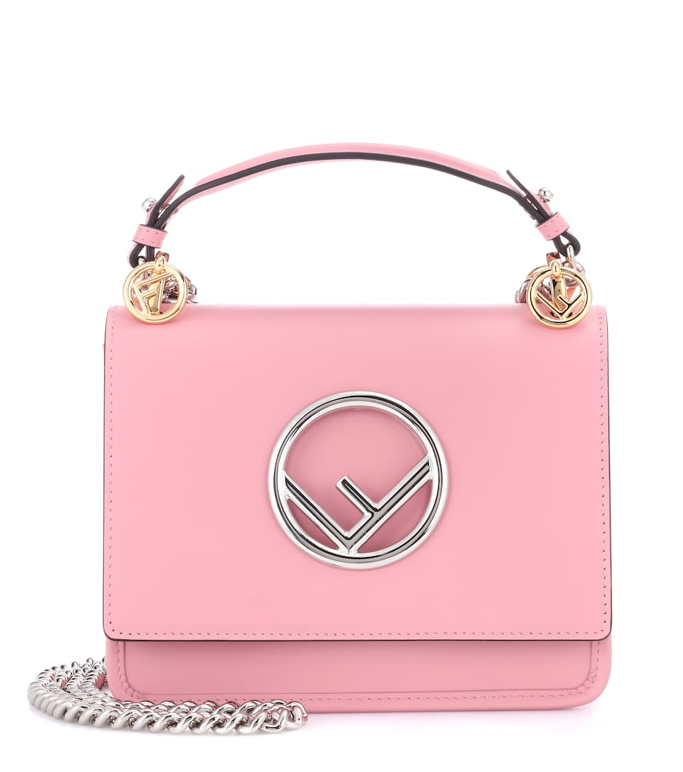 Exclusivité Mytheresa.com - Sac Cross-Body En Cuir Kan I F Small - Fendi
