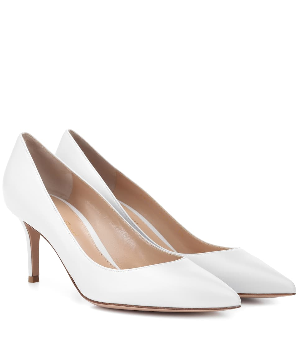 c02ebf900b7 Gianvito Rossi Exclusive To Mytheresa.Com - Gianvito 70 Patent Leather Pumps  In Offwhite
