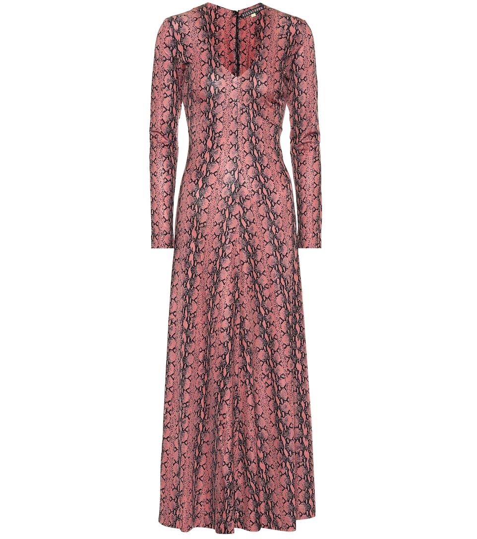 AlexaChung - Robe longue imprimée