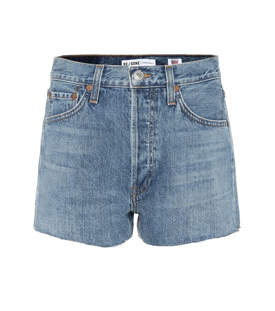 shorts Denim Denim camionero Done camionero Re Re shorts Done zUqxCF00