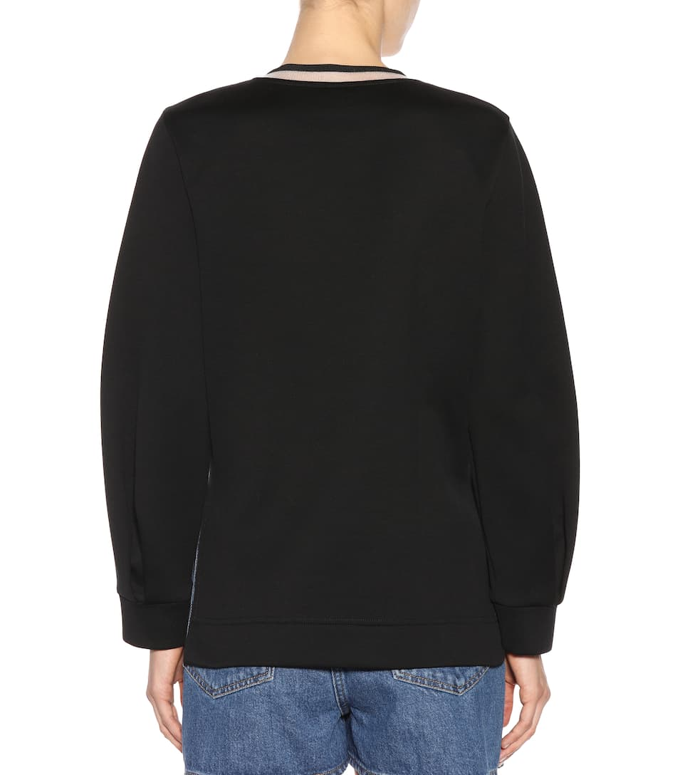 Fendi Pullover mit Applikationen