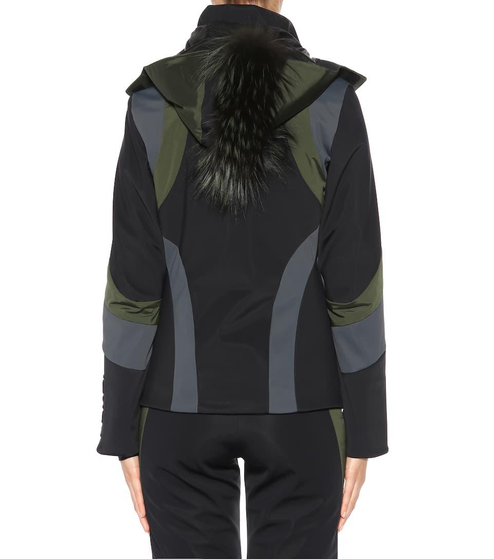 Bestellen Günstig Online Auslass Verkauf Fendi Skijacke mit Pelz wUiW6LW
