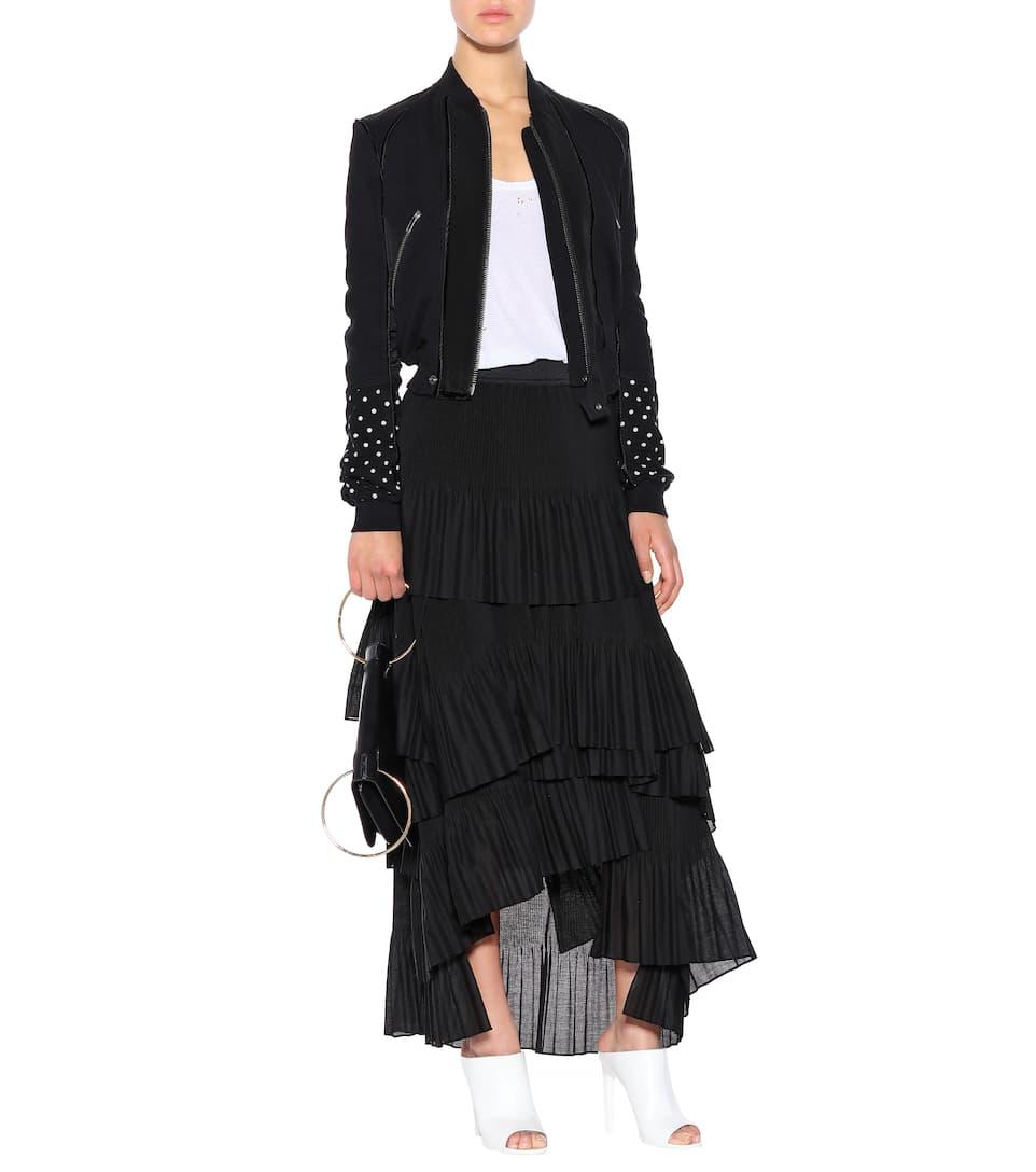 Verkauf Besten Großhandels Givenchy Mules aus Leder Online Shop HzqhVYuFiU
