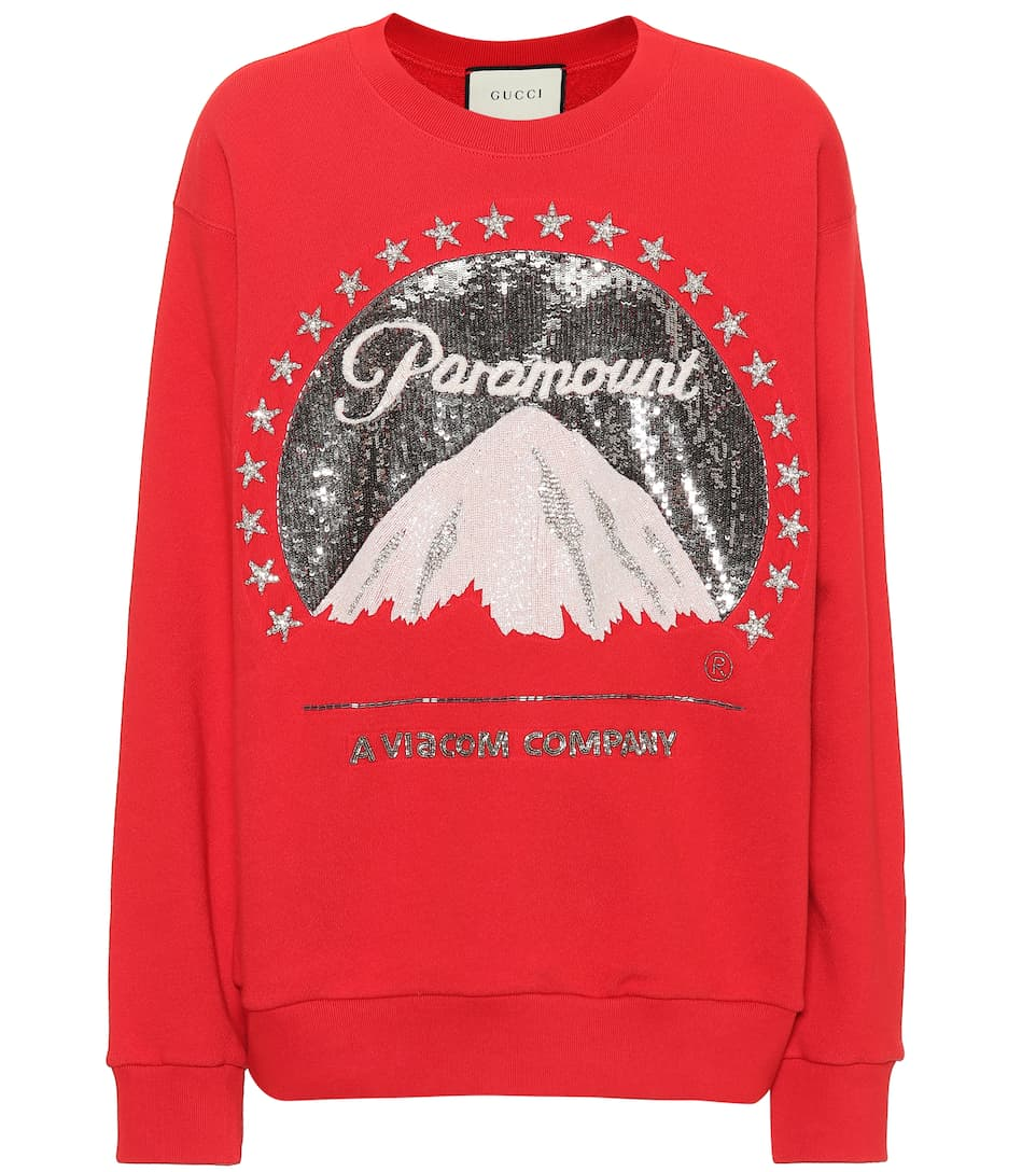 32d2727830f Gucci - Paramount Logo oversized sweatshirt