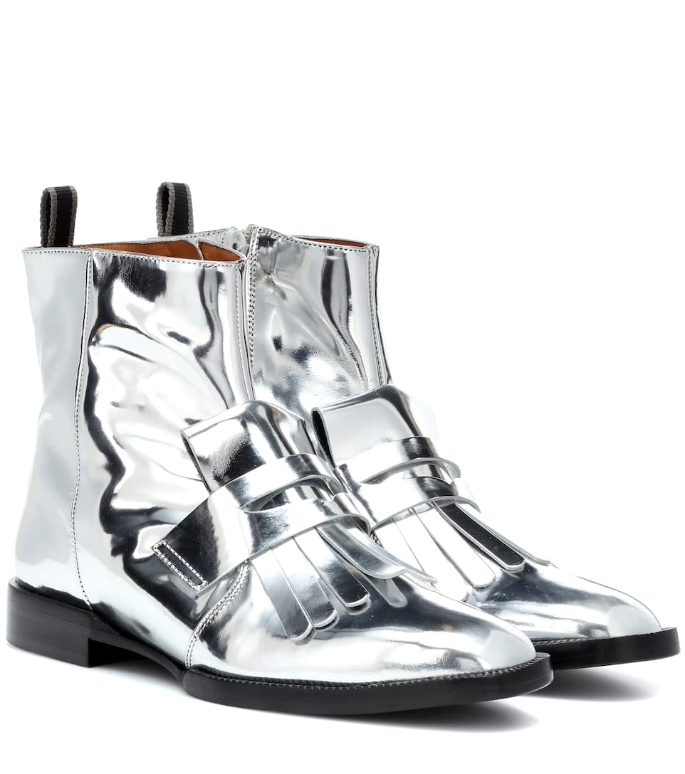 0f8d3d3aef60 Yousc Leather Ankle Boots